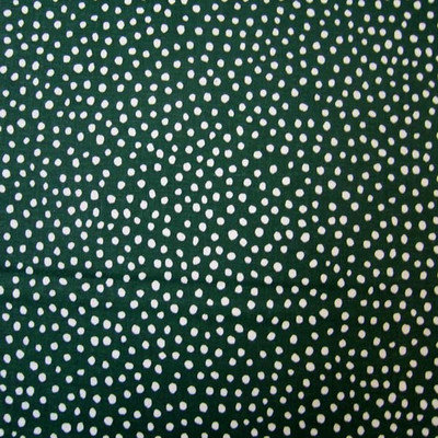 Stwd Fun Dots Crib Sheet Color: Hunter Green