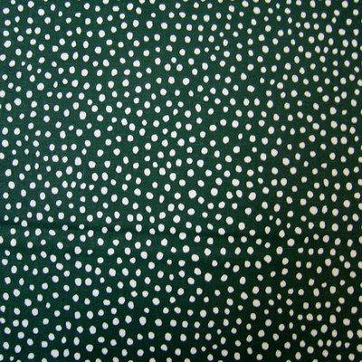 Stwd Fun Dots Crib Sheet Color: Hunter Green