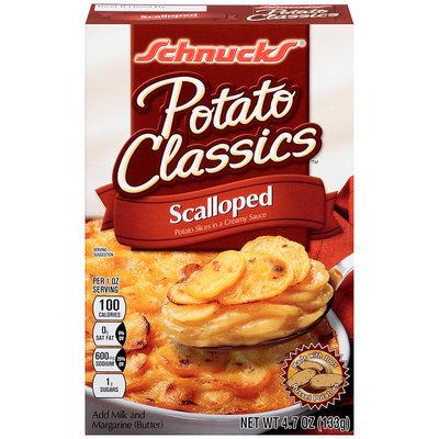 Schnucks® Potato Classics™ Scalloped Potatoes 4.7 oz. Box