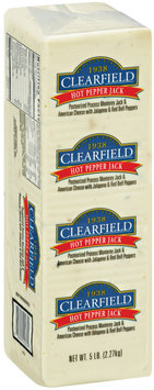 Clearfield Hot Pepper Jack Cheese 5 lb brick