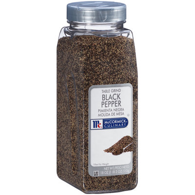 McCormick® Culinary™ Table Grind Black Pepper 18 oz. Shaker