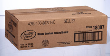 Healthy Ones Honey Roasted & Smoked Turkey Breast 8 Oz Pack