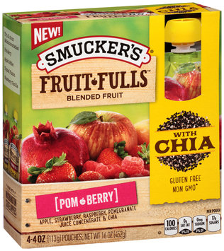 Smucker's® Fruit Fulls Pom-Berry Blended Fruit 4.4 oz. Box