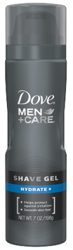 Dove Men+Care Hydrate+ Shave Gel