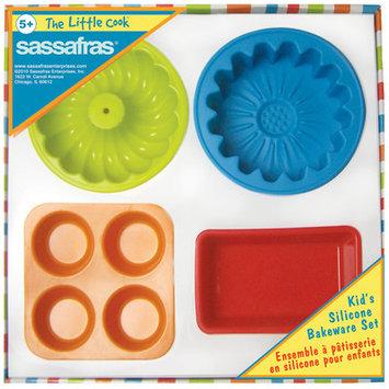 Sassafras Enterprises 22224 The Little Cook 4-Piece Silicone Bakeware