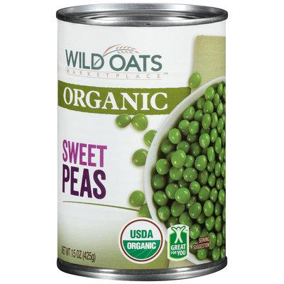 Wild Oats Marketplace™ Organic Sweet Peas 15 oz. Can