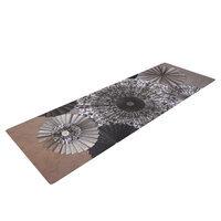 Kess Inhouse Shadows by Heidi Jennings Dark Circles Yoga Mat