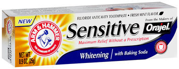 ARM & HAMMER™ Sensitive Whitening Toothpaste with Baking Soda