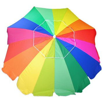 Solar Guard 8' Fiberglass Beach Umbrella
