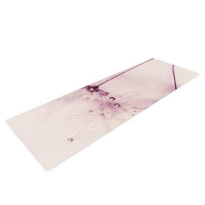 Kess Inhouse Pink Blush by Ingrid Beddoes Yoga Mat