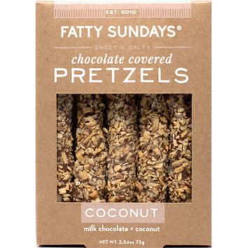 Fatty Sundays Coconut Milk Chocolate Covered Pretzels