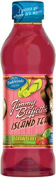 Tradewinds Jimmy Buffett's Island Tea Strawberry Lime Black Tea 18.5 fl. oz. Bottle