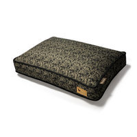 PLAY Frolic Brown Rectangle Dog Bed Large