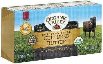 Organic Valley® European-Style Cultured Butter 8 oz. Brick
