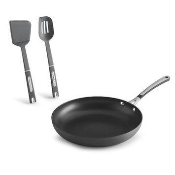 Simply Calphalon Nonstick Omelet Pan Set (Gray)