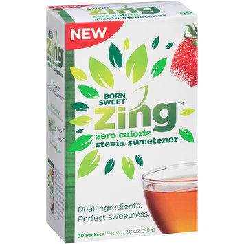 Born Sweet® Zing™ Zero Calorie Stevia Sweetener 2.8 oz. Box