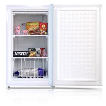 Midea 3.0(cu. ft.) Upright Freezer White WHS-109FW1