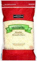 American Heritage® Shredded Mozzarella Cheese 16 oz. Bag