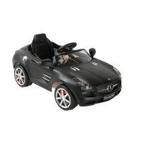 About Time Mercedes SLS 6V Battery Powered Kids Pedal Car Color: Black