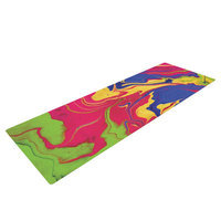 Kess Inhouse Escaping Reality by Claire Day Yoga Mat