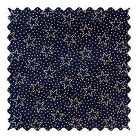 Stwd Dotted Stars Fabric by the Yard Color: Navy