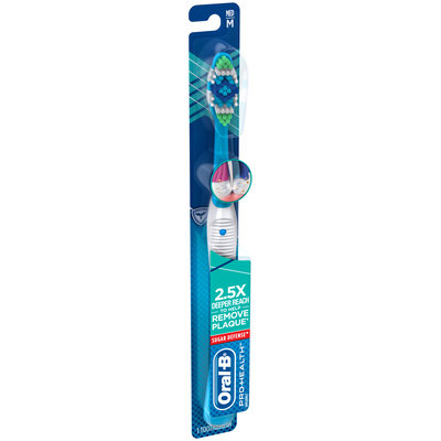Pro Health Oral-B Pro Health Sugar Defense Manual Toothbrush, 1CT Medium