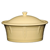Fiesta 2.81-qt. Round Covered Casserole Color: Ivory