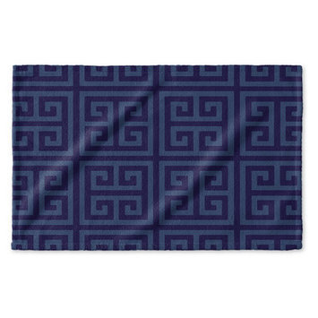 Kavka Greek Key Hand Towel