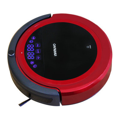 Infinuvo Hovo 710 Robotic Vacuum Color: Red