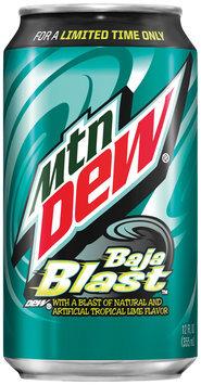 Mountain Dew® Baja Blast™ 12 fl. oz. Can