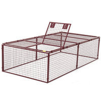 Animal House Standard Duty Flat Covered Animal Pen/Cage Size: Super (90