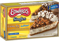Edwards® Singles Creme Pie Made with Nestlé Butterfinger® 6.5 oz. Box