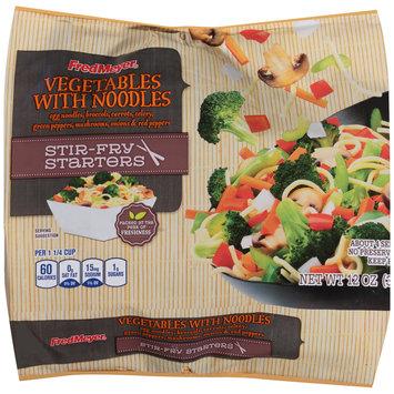 Fred Meyer® Vegetables with Noodles 12 oz. Bag