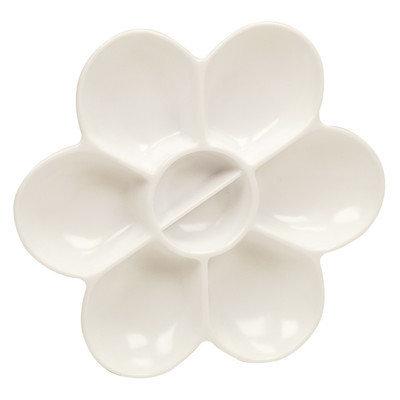 Palette - Reeves Plastic Flower 8 Wells
