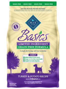 THE BLUE BUFFALO CO. BLUE™ Basics® Grain-Free Turkey & Potato Recipe For Adult Dogs