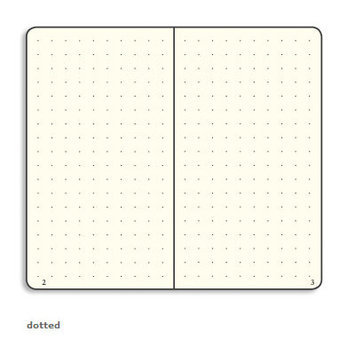 Leuchtturm Classic Medium Hardcover Notebook Page Type: Squared, Color: Grey