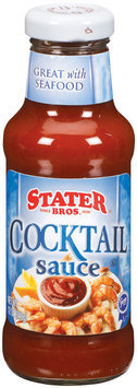 Stater Bros.  Cocktail Sauce 12 Oz Glass Bottle