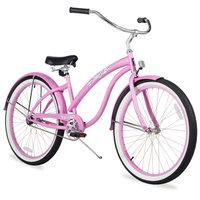 Firmstrong Bella 3 Speed, Pink Cruiser Bike