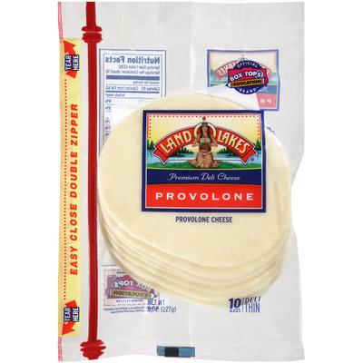 Land O'Lakes® Provolone Premium Deli Cheese Slices 8 oz.