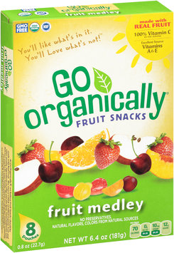 Go Organically® Fruit Medley Fruit Snacks 8 ct Box