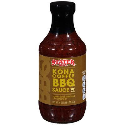 Stater Bros.® Kona Coffee BBQ Sauce 20 oz. Bottle
