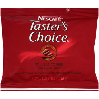 NESCAFE TASTER'S CHOICE 2.5 oz. Pouch