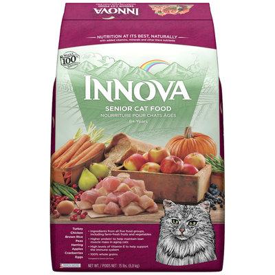 Innova Senior Cat Food 15 lb. Bag