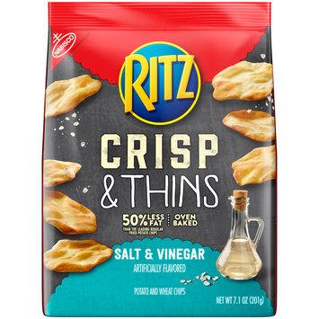 Nabisco Ritz Salt & Vinegar Crisp & Thins