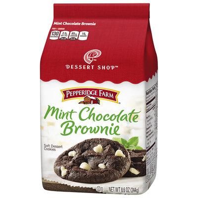 Pepperidge Farm® Dessert Shop™ Mint Chocolate Brownie Soft Dessert Cookies