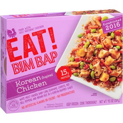Eat! Bim Bap Korean Inspired Chicken Frozen Entree 9.5 oz. Box