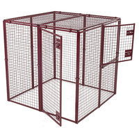 Animal House Standard Duty Flat Covered Animal Pen/Cage Size: Mini (30