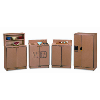 Sproutz 2030JC341 - Kitchen Set - 4 Piece Set - Caramel Trim