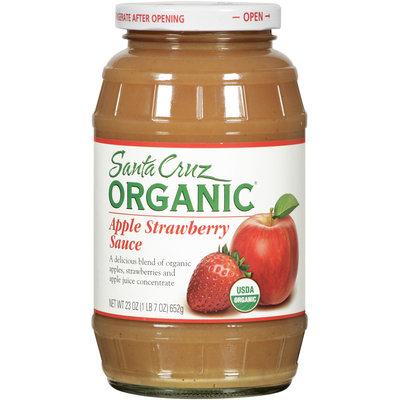 Santa Cruz Organics® Apple Strawberry Sauce 23 Oz Jar