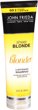 John Frieda® Sheer Blonde Go Blonder Lightening Shampoo 8.3 fl. oz. Tube